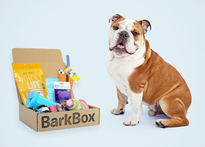 BarkBox box of treats