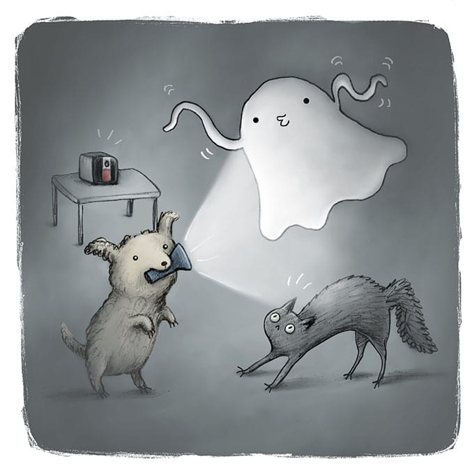pets and ghosts comics