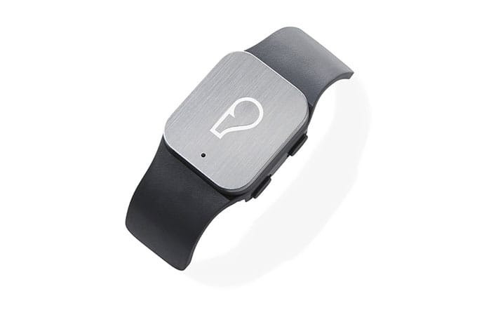 Photo of the Whistle pet tracker