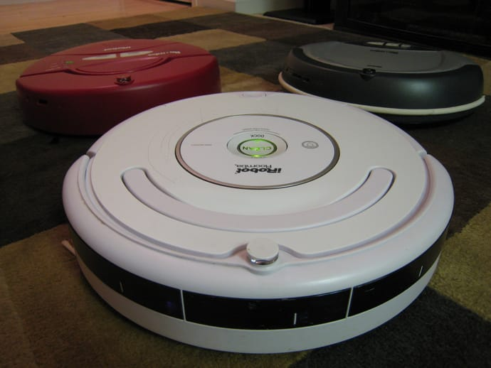 roomba robot vacuums are one way to keep pet dander at bay