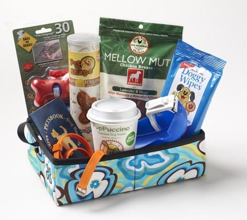 Pet Travel Gift Basket