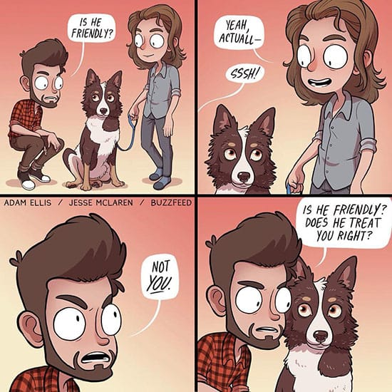 funny comic about dogs