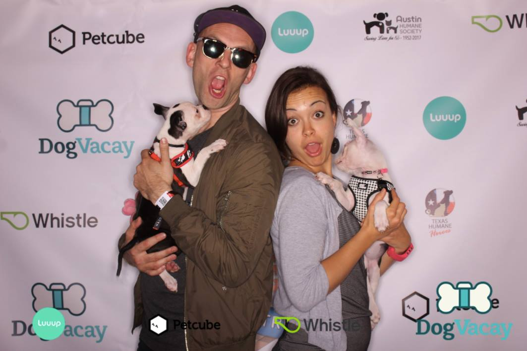 Green carpet at Petcube Rescue Lounge at SXSW in Austin, TX