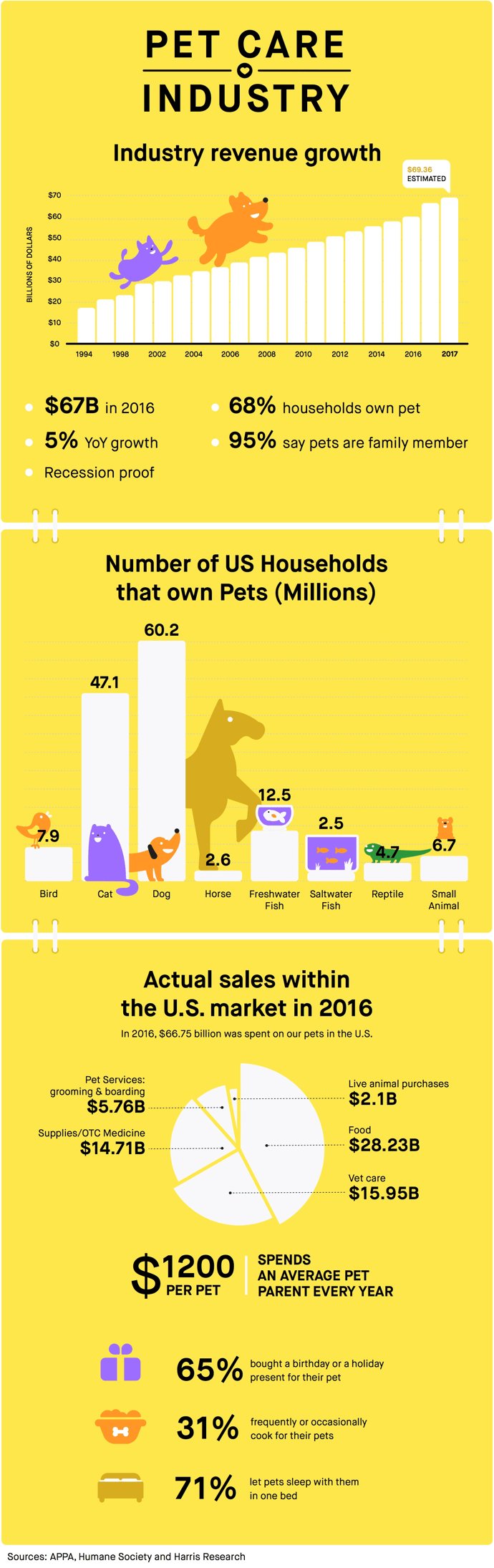 Pet Care Industry Infographic