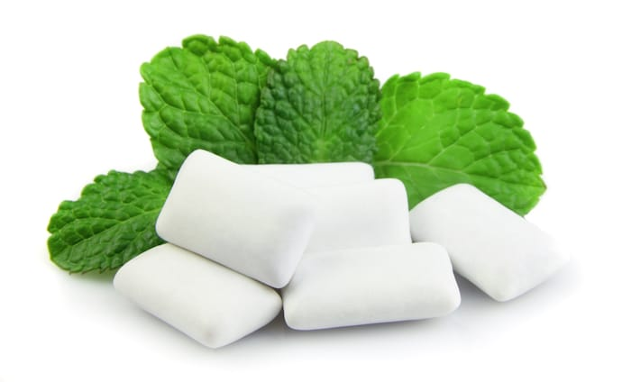 Xylitol Chewing Gum with mint