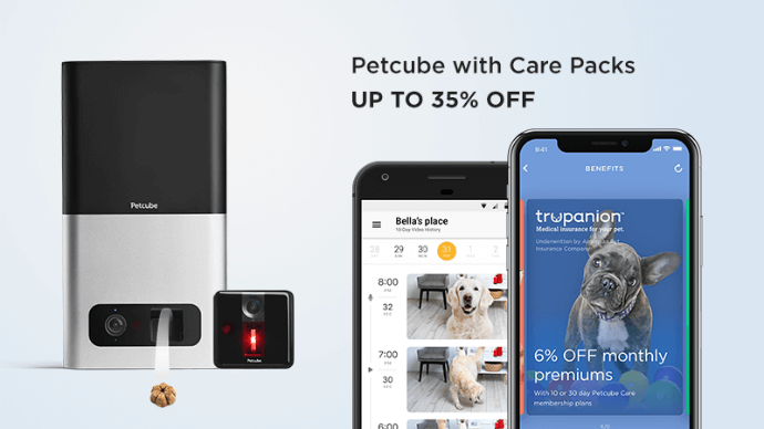 Petcube with Care Packs