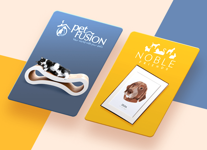 New Petcube Care perks cards