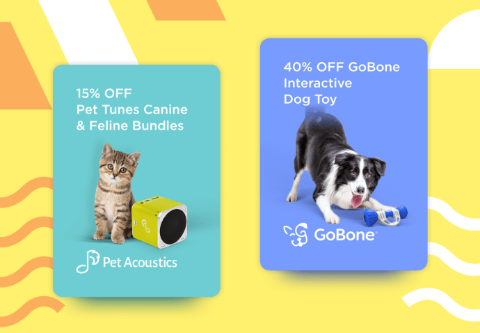 Pet Acoustics and GoBone Petcube Care Perks