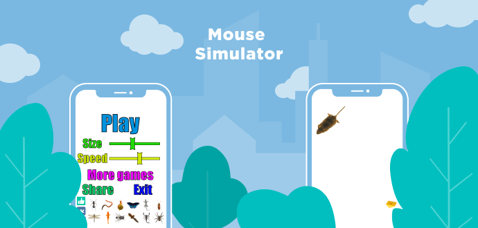 catching Mouse app for cats