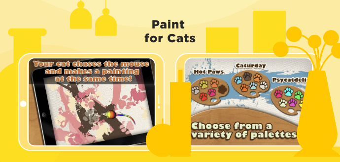 Paint For Cats app