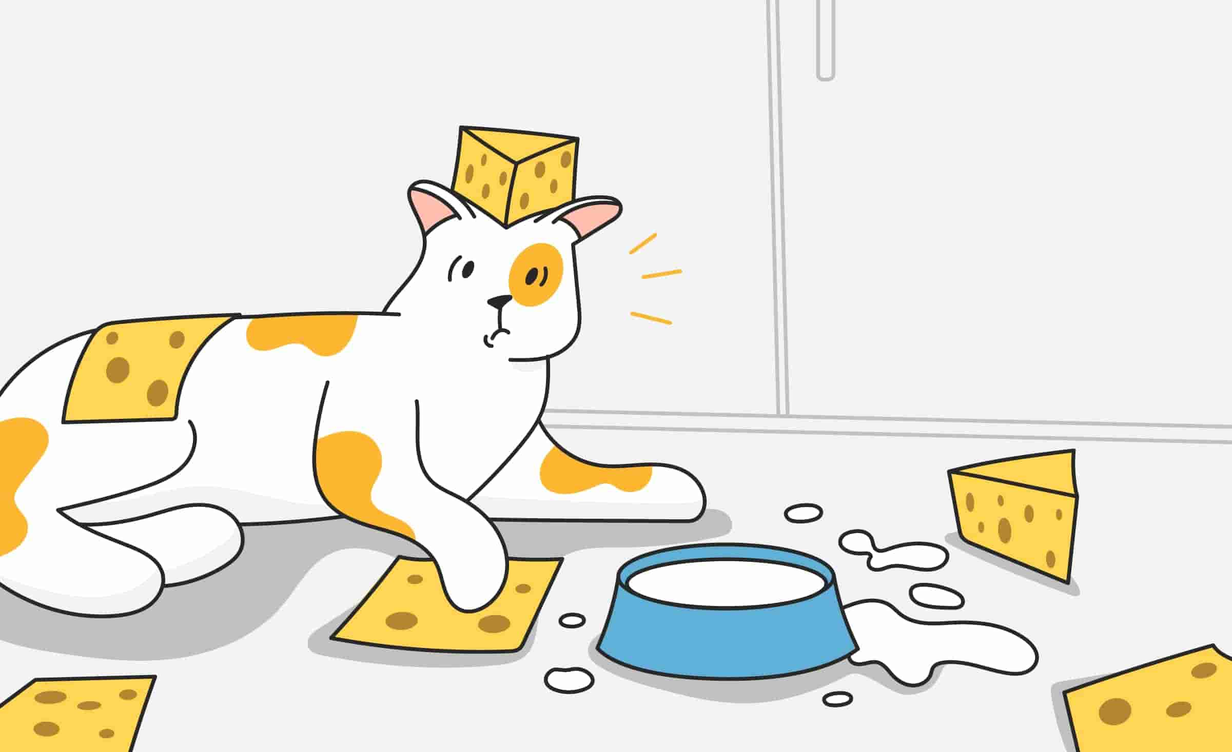 Can Cats Eat Dairy Products Like Cheese, Milk, and Yogurt?