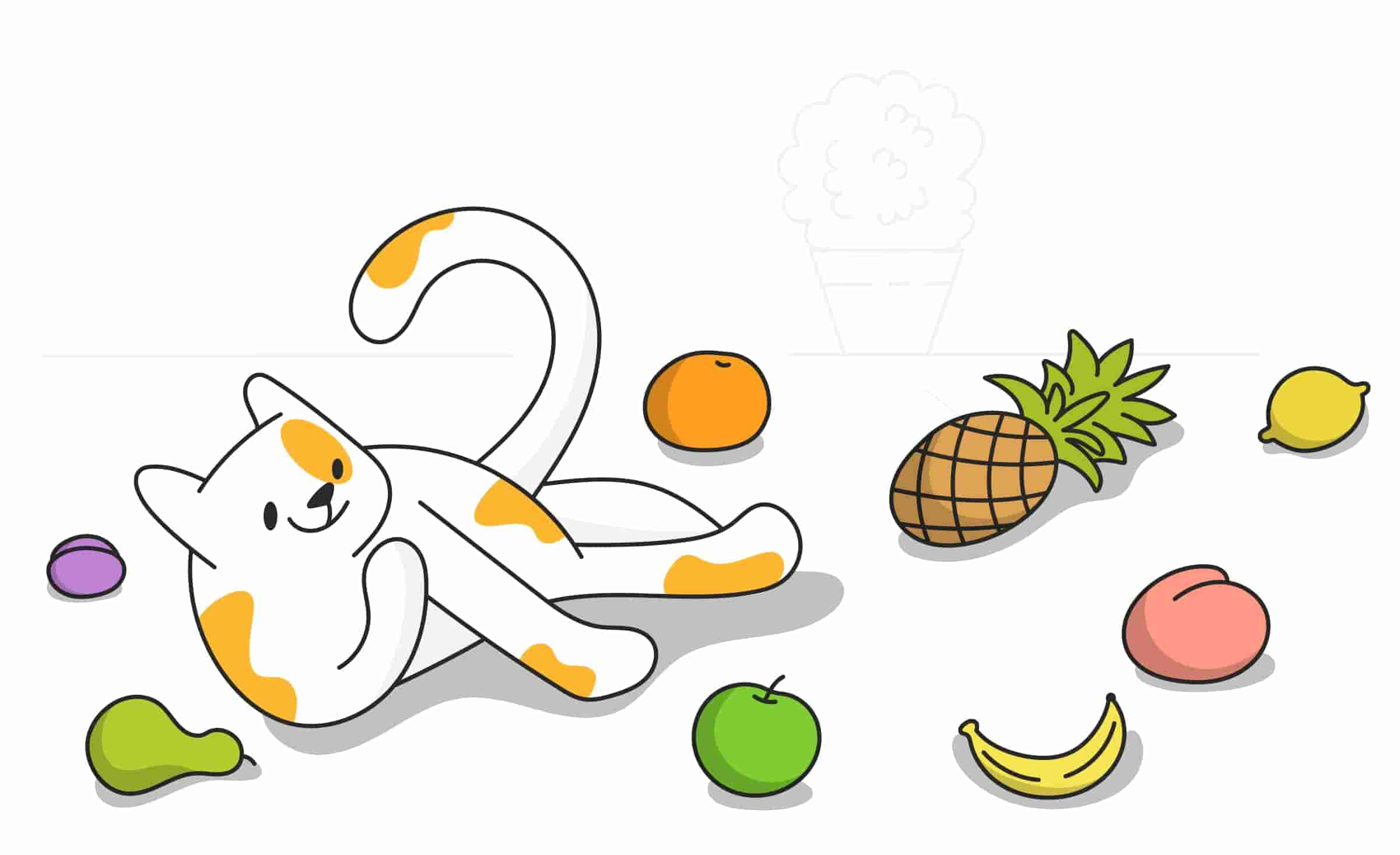 Can Cats Eat Fruits Like Apples, Bananas, or Grapes?